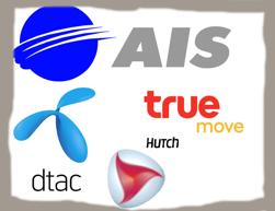 Mobiloperatörer i Thailand