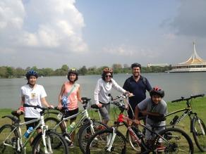 Cykla i Bangkok