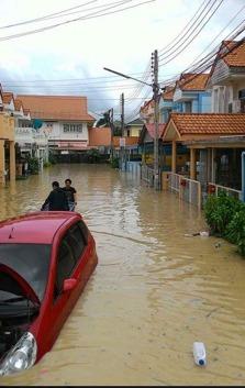 Övsersvämmning i Rayong