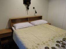 Litet sovrum på resorten Palm Leaf