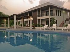 Sovrum på Palm Leaf condo i Mae Phim