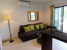 Vardagsrum Palm Leaf lägenhetshotell