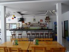 Bar och restaurang på the Sea Guesthouse