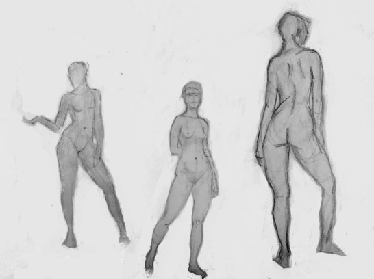2 minute, 10 minute, and 5 minute poses
