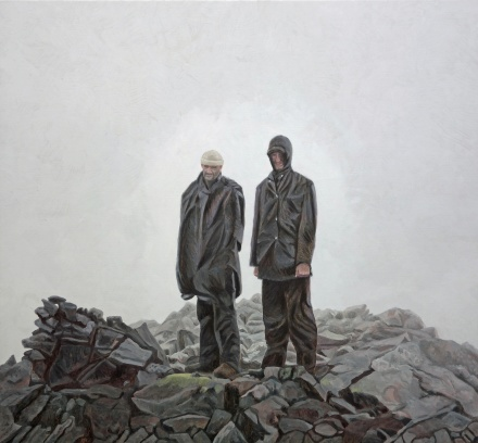 Helags, 2014, oil on canvas, 127x137cm
