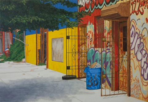 367 Bedford ave, 2013, oil on canvas, 68x98cm
