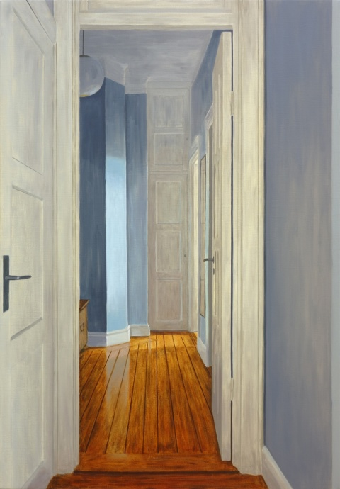 Fifth floor, 2013, oil on canvas, 119x83cm