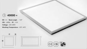 LED PANELER - Led Panel 13W 30x30  4000K