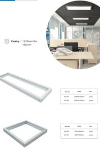 Konsol för Ledpaneler - Vit Konsol 600x600