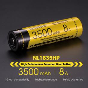 Batteri NiteCore 3500mA -