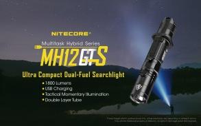 Nitecore MH12 GTS 1800lm - MH12 GTS Nitecore