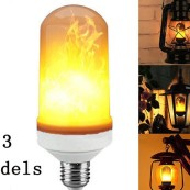 Led Lampa med Eldflams effekt