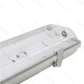 Led Armatur 150cm För 2 T8 Ledlysrör