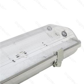 Led Armatur 120cm För 2 T8 Ledlysrör -