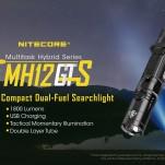 Nitecore MH12 GTS 1800lm