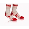 Compressport Pro Racing 3:Dot Bike - Pro Racing socks Bike vit/röd T5