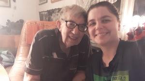 Morfar och jag!
