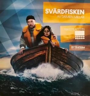 Svärdfisken, Riksteatern 2018. foto: Sören Vilks