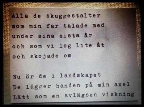 Månadens dikt är skriven av Ronny Söderlind, @yx82 på Instagram. Grattis!