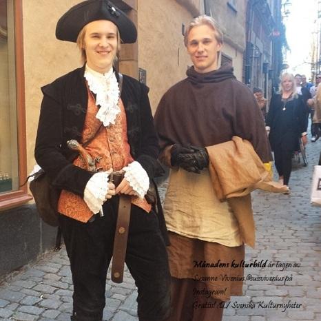 """Månadens kulturbild är tagen av Susanne Vivenius @sussvivenius på Instagram! Grattis! :) Bilden togs i Stockholm på """"Kulturnatten"""". Ett kulturevenemang som Stockholms kulturliv och Stockholms stads kulturförvaltning håller i. Klicka på bilden så kommer du vidare till Susanne Vivenius bild på Instagram!"""