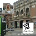 Ann-Helen Ranén från Svenska Kulturnyheter besökte Stockholm juni 2014. I Stockholm finns det mycket att se, höra och göra, som t ex gå på opera, ABBA-museet m.m... Här ser du Operan.