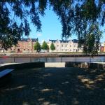 Rastplats vid Gavleån.