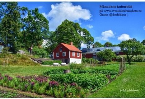 Månadens kulturbild är tagen från Wij Trädgårdar i Ockelbo av @dodddann på Instagram. Doris kommer ifrån  Sandviken. Se hennes vackra bilder från bland annat Gästrikland, Härjedalen och Dalarna! :D
