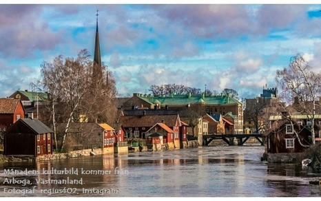 Månadens kulturbild kommer från Arboga, Västmanland. Det är Tomas, @regius402 från Instagram som har fotograferat den här fina bilden. Grattis säger vi till Tomas! :)