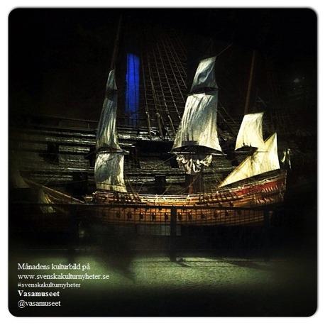 Klicka på bilden så kommer du till Vasamuseets Instagram @vasamuseet :)