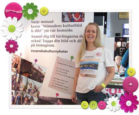 Varje månad koras Månadens kulturbild och dikt på Svenska Kulturnyheter www.svenskakulturnyheter.se Anmälan kan göras via Instagram och ann-helen.ranen@svenskakulturnyheter.se