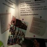 Svenska Kulturnyheter gör reklam för sina tävlingar på Instagram.