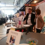 Teamwork på Mediamässan i Gävle.
