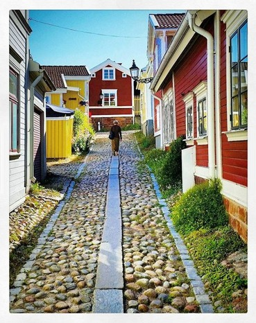 Bild nr. 20 Micke @tidanuppsala har fotograferat från Gamla stan i Gävle.