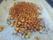 Rostade kikärtor med chilipulver, paprikapulver, vitlökspulver och spiskummin.