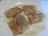 Stek panerade torsken totalt ca 16 min, 8 min på varje sida. Stek på mellanvärme. Krydda med lite svartpeppar och salt.