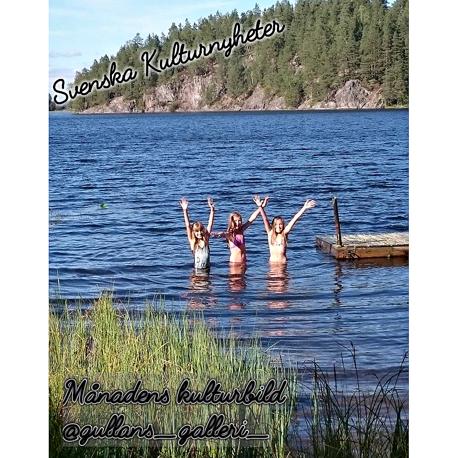 Här kommer en fantastisk sommarbild från Södermanland, en varm septemberdag 2016 som Gull-marie har tagit. Grattis Gull-marie @gullans_galleri_ :)
