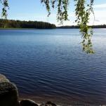 Gårdagens bild 1/10 är fotad vid sjön Tjurlången utanför Arboga. Stålande sol hela dagen ca. +15-16° .