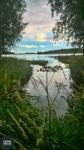 Tisdag 23/8 Hertsöfjärden, Luleå. Växlande molnighet +19 grader. Foto :Carina Marklund