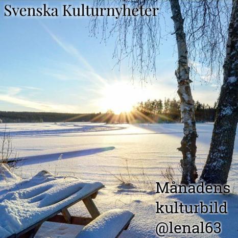 Den här fina vinterbilden från Edsken har @lenal63 tagit. Grattis @lenal63 :) Din bild har utsetts till Månadens kulturbild!