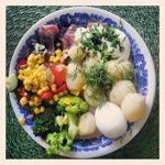 Matjessill, potatis, ägg, gräddfil och gräslök är den vanligaste sommarmaten i Sverige :D
