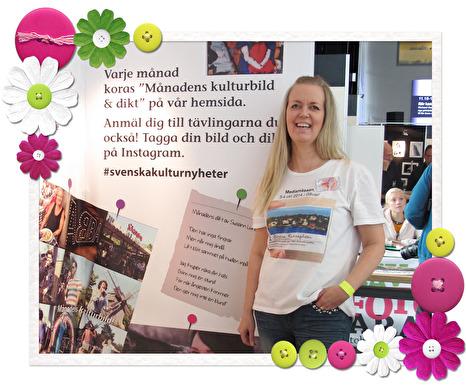 Anmälan kan du göra via Instagram och ann-helen.ranen@svenskakulturnyheter.se
