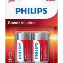 Philips Power Alkaline C LR14