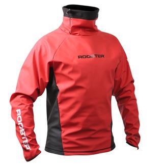 ROOSTER Aquafleece Top - Röd - XS