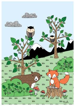 Skogen - Färg REA 50 %