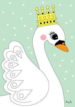 The swan - Mint