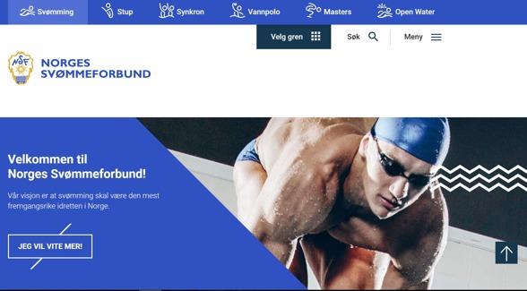 85da7bea6 Svømmeforbundet med nye nettsider   simma.nu