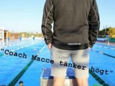 Marcus Wernström är tränare i Motala SImsällskap och på Triathlon-gymnasiet i Motala. Han har tankar om simning och idrott som han publicerar på Facebook och på SIMMA.