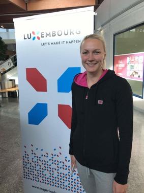 Sarah Sjöström tävlar i helgen på Euro Meet i Luxemburg. Foto:  Jussi Salminen