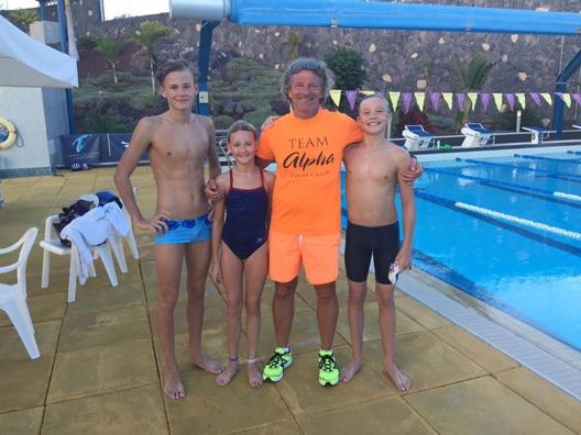 """Glen Christiansen fyller 60 och firar med en fond för unga simmare - """"Årets Glen""""."""