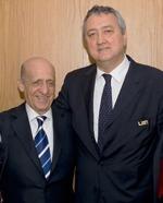 Maglione och Barelli för fem år sedan när man fortfarande kunde finnas på samma bild..